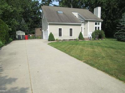 St Clair Shores, Roseville, Fraser, Harrison Twp Single Family Home For Sale: 38335 Winkler
