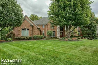 Washington Twp Single Family Home For Sale: 67584 Hidden Oak Lane
