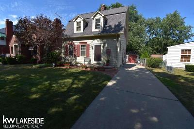 Dearborn Single Family Home For Sale: 22920 Wellington St