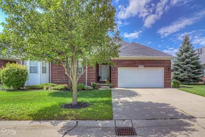 Sterling Heights Condo/Townhouse For Sale: 44380 Constellation