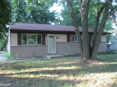 Shelby Twp Single Family Home For Sale: 3231 W Utica