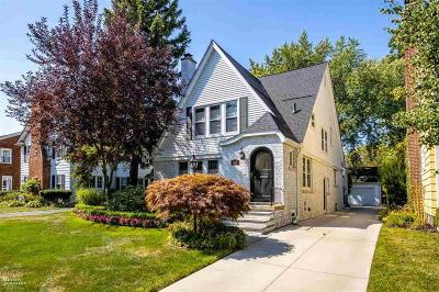 Grosse Pointe Single Family Home For Sale: 627 Lincoln