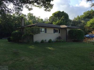 Macomb Twp Single Family Home For Sale: 48501 Card
