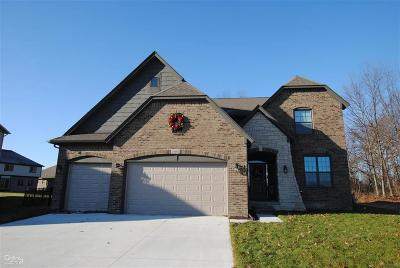 Macomb Twp Single Family Home For Sale: 47101 Hidden Meadows Dr