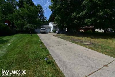 Troy Residential Lots & Land For Sale: 6103 Rochester Rd