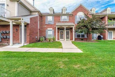 Warren Condo/Townhouse For Sale: 29940 Heritage Pkwy #29