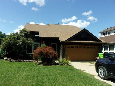 St Clair Shores, Roseville, Warren, Harrison Twp, Clinton Twp Single Family Home For Sale: 39661 Arbor St