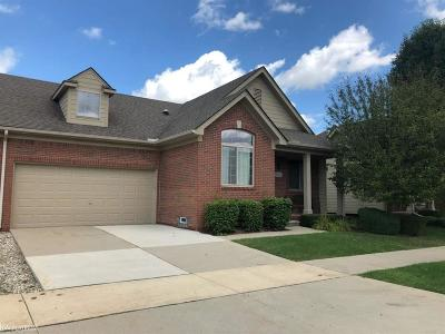 Macomb Twp Condo/Townhouse For Sale: 22525 Cass River Drive
