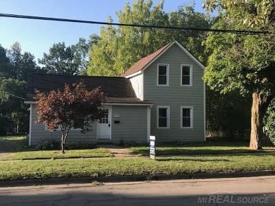 Imlay City MI Single Family Home For Sale: $144,900