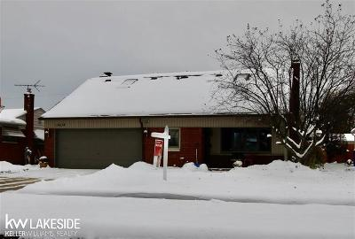 Warren Single Family Home For Sale: 13634 Hanford Ct