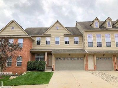 Shelby Twp MI Condo/Townhouse For Sale: $269,900