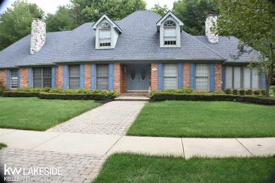 Shelby Twp MI Single Family Home For Sale: $448,000