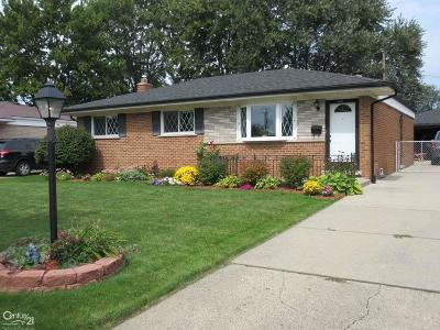 Sterling Heights Single Family Home For Sale: 14351 Brandywine