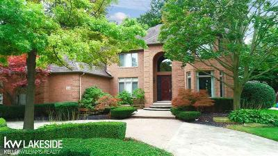 Shelby Twp Single Family Home For Sale: 14044 Timberwyck Dr