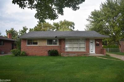 Sterling Heights Single Family Home For Sale: 44084 Donley