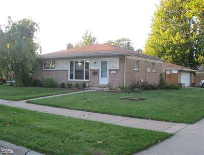 Oakland County, Macomb County, Wayne County Single Family Home For Sale: 11653 Stamford