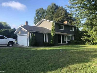 Macomb Twp Single Family Home For Sale: 20984 22 Mile Rd