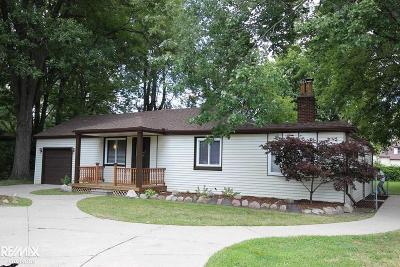 Macomb County Single Family Home For Sale: 22023 Downing
