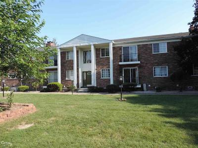 Sterling Heights Condo/Townhouse For Sale: 39417 Van Dyke