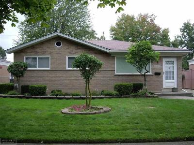 Oakland County, Macomb County, Wayne County Single Family Home For Sale: 29209 Greater Mack