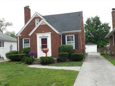 Wayne County Single Family Home For Sale: 1857 Roslyn