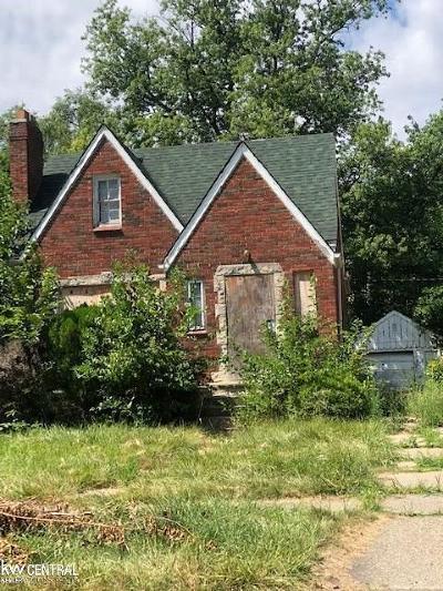 Wayne County Single Family Home For Sale: 11685 Hartwell