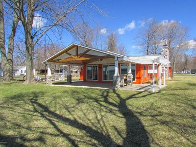 Branch County Single Family Home For Sale: 696 Waterview Dr