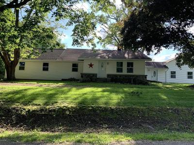 Branch County Single Family Home For Sale: 408 N Fox Rd