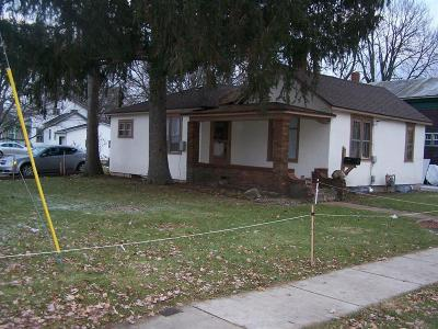 Branch County Single Family Home For Sale: 141 S Hudson St