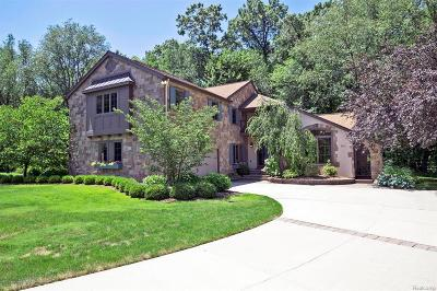 Meridian Charter Twp Single Family Home For Sale: 5205 Whitetail Circle