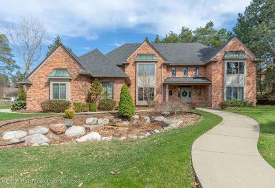 Meridian Charter Twp Single Family Home For Sale: 6440 Pine Hollow Drive
