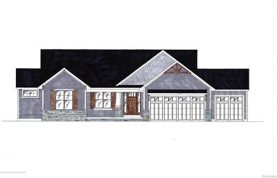 Clinton County Single Family Home For Sale: 3570 Stanwood Drive #Lot #71