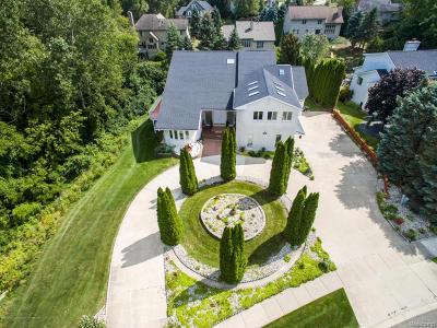Meridian Charter Twp Single Family Home For Sale: 3615 Beech Tree Lane