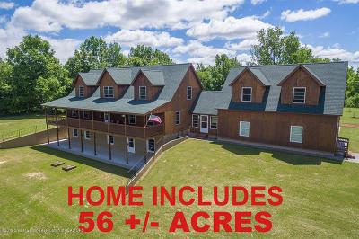 Clinton County Single Family Home For Sale: 3445 W Gratiot County Line Road