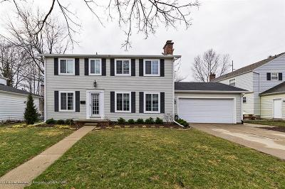 Lansing Single Family Home For Sale: 2010 Groesbeck Boulevard