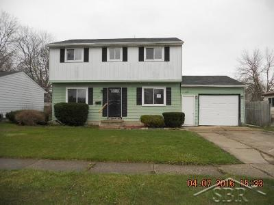 Saginaw MI Single Family Home Sold: $12,960