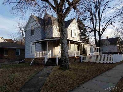 Bay City Single Family Home For Sale: 1200 10th St