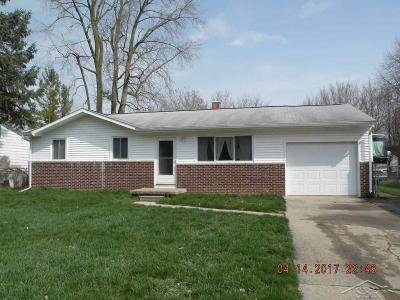 Saginaw Single Family Home For Sale: 2225 Kansas