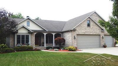 Saginaw Single Family Home For Sale: 18 Cobblestone Pl