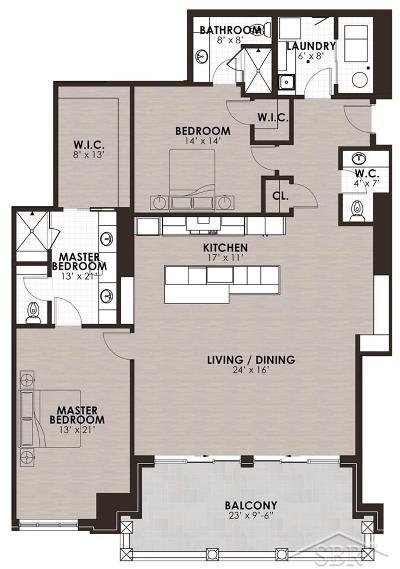 Midland Condo/Townhouse For Sale: 110 E Main Street #304