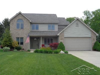 Saginaw Single Family Home For Sale: 4384 E Scenic