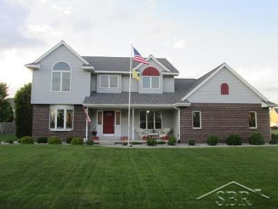 Saginaw Single Family Home For Sale: 6816 Heatheridge Blvd