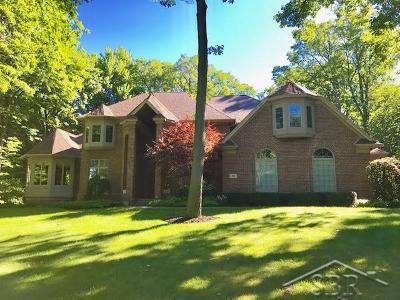 Saginaw Single Family Home For Sale: 15 Hunters Ridge