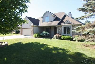 Saginaw Single Family Home For Sale: 6897 Green Meadow