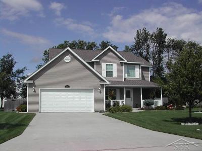 Saginaw Single Family Home For Sale: 5586 S Lakecress