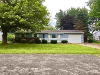 Freeland Single Family Home For Sale: 358 Harvey