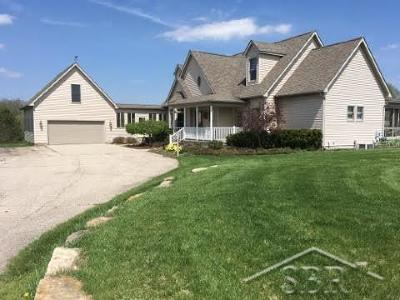 Freeland Single Family Home For Sale: 2588 Lone