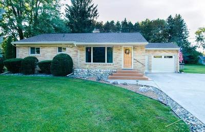 Freeland Single Family Home For Sale: 7735 N Gleaner