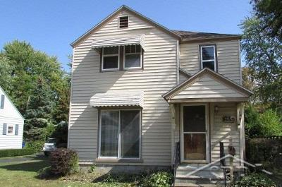 Bay City Single Family Home For Sale: 619 Stanton St