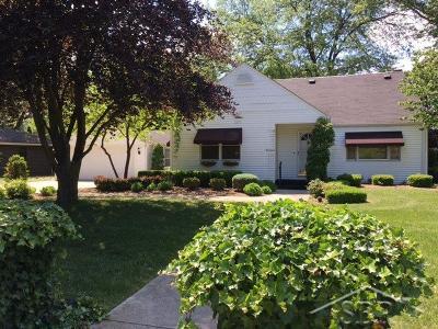 Saginaw Single Family Home For Sale: 1237 Glendale